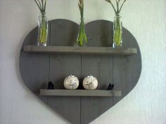 hart van steigerhout , gemaakt door oldambt meubelen