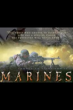 Inspirational Marine quotes #USMC #USMarines #USMilitary - Post Jobs, Tell Others and Become a Sponsor at www.HireAVeteran.com