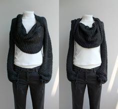 Its a cowls with sleeves, how awesome
