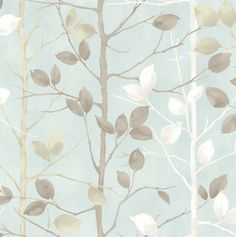 Arthouse Vintage Woodland Duck Egg Wallpaper – 630700