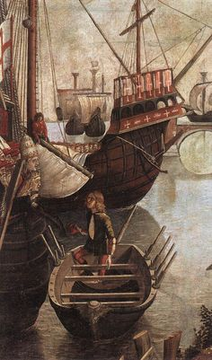 Ankunft im Hafen; art by V Carpaccio