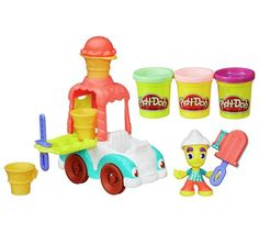 Buy Play-Doh Town Ice Cream Truck Playset at Argos.co.uk - Your Online Shop for Arts, crafts and creative toys, Creative and science toys, Toys.