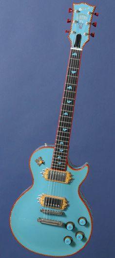 1994 Gibson Suroeste Les Paul guitar.  A custom shop art guitar.