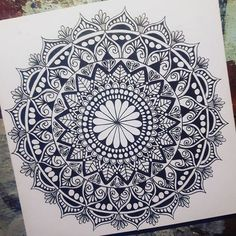 Mandala by @tamm.art
