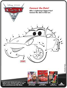 cars 2 family press kit - Disney Cars Activities