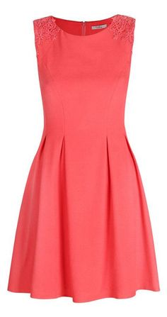 Bright and Beautiful Coral Dress