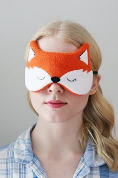 050f6936970 Orange Fox Sleep Mask - 311319