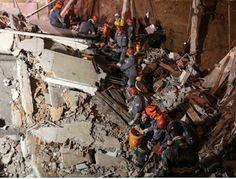 Jornal Municipal: Bombeiros resgatam duas pessoas de escombros de ig...