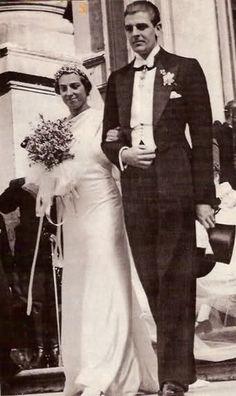 Infanta Beatriz de España y principe Alessandro Torlonia-Civitella-Cesi, Enero 14, 1935