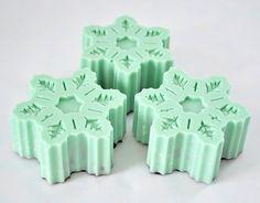Mint snowflakes #christmas #mint #color