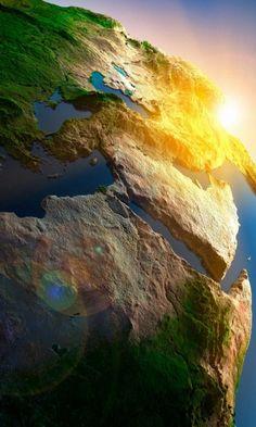 3D Earth Terrain