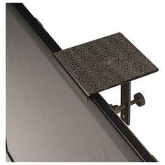 Center Stage Bracket - Satellite Center-Channel Speaker Shelf Bracket - Black - Larger Front