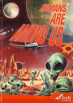 Humans are among us! RUN!