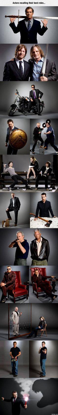 Actors Recalling Their Best Roles   Memes.com