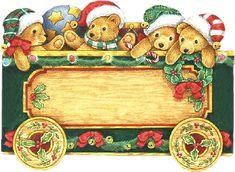 CHRISTMAS TEDDY BEAR TRAIN