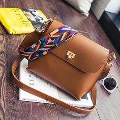 Cheap strap handbag, Buy Quality shoulder bags directly from China mini shoulder bag Suppliers: Hot Sale Women Leather Mini Shoulder bags Simple Flap Sling Crossbody Messenger Bags Colorful Wide Strap Handbag Crossbody Messenger Bag, Leather Crossbody, Pu Leather, Classic Leather, Cross Body, Estilo Popular, Must Have Travel Accessories, Julia, Purses