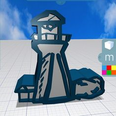 At #Fabfest in Boston yday, a quick #lighthouse sketch in Morphi by Austin, a highschool student who wants to use Morphi for #gamedesign. #3dmodeling #3dprinting #3ddesign #3dprint #3dmodel #ipad #ipadmini #edtech #education #create #creative #stem #steam #fab11 #fablab #highschool #massachusetts #newengland #boston #maker #makered #makermovement