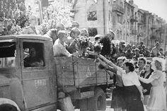Харьков. 23 августа 1943 года. Перекрёсток улиц Сумской и Веснина. Дом №126 по Сумской.