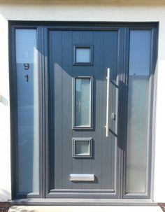 Gallery - The Urban Door Company Front Door Porch, House Front, Front Doors, Composite Front Door, House Extensions, Fence Design, Locker Storage, New Homes, Urban
