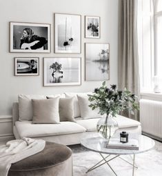 """35 Adorable Gallery Wall Design Ideas To Try Right Now - I just worship gallery walls. Gallery walls are an elegant way to decorate your walls and to add a unique character to your interior. There is no """"rig. Wall Design, Room Decor, Gallery Wall Living Room, Living Room Pictures, Wall Art Living Room, Wall Decor Living Room, Gallery Wall Inspiration, Modern Room, Wall"""