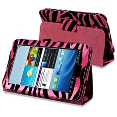 @Overstock.com.com - BasAcc Zebra Leather Case for Samsung Galaxy Tab 2 7.0 P3100/ 3110 - This is a BasAcc hot pink/ black zebra leather case with stand for Samsung� Galaxy Tab 2 P3100/ P3110/ P3113/ 7-inch. Protect your tablet against bumps and scratches with this case.  http://www.overstock.com/Electronics/BasAcc-Zebra-Leather-Case-for-Samsung-Galaxy-Tab-2-7.0-P3100-3110/7957118/product.html?CID=214117 $10.27