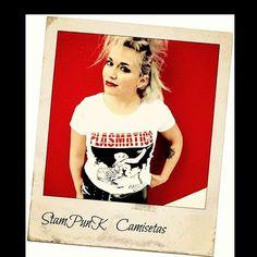 Camisetas PLASMATICS!! #plasmatics #wendyowilliams #divaspunk #divas  #divaspunkrock #music #t-shirtspunk #