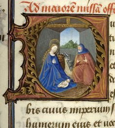 Pontifical matutinale and missal of Jean Coeur, G.49 fol. 61v - Images from Medieval and Renaissance Manuscripts - The Morgan Library & Museum