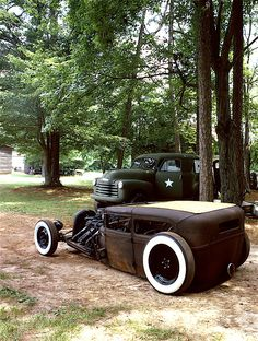 rat rod! 1929, not a fan of the big rear light but I read through this guys build thread and loved it.