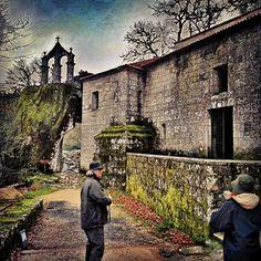 Monasterio de San Pedro de Rocas en Esgos, Ourense en la #RibeiraSacra
