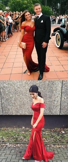 Red Prom Dresses, Long Prom Dresses, Prom Dresses On Sale, Long Red Prom Dresses, Prom Dresses Long, Red Long Prom Dresses, Prom dresses Sale, Prom Dresses Red, Long Evening Dresses, Long Red dresses, Dresses On Sale, Red Long dresses, Zipper Evening Dresses, Side Split Evening Dresses, Sweep Train Prom Dresses
