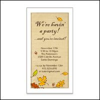 Printable card fun night ful party invitation american fall party invitation is one of thousands of american greetings cards you can personalize m4hsunfo