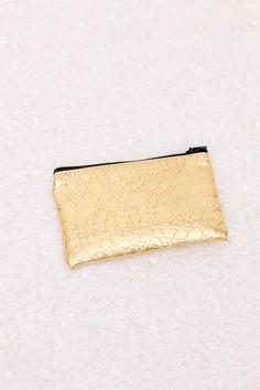 Gold Crocodile Coin Purse by luxeandlavish on Etsy, $8.00