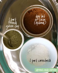 homemade transluscent makeup powder
