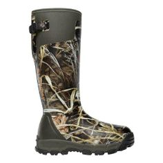LaCrosse Men's Alphaburly Pro 18 Ad Max4 800G Hunting Boot - Price: $ 149.99 View Available Sizes & Colors (Prices May Vary) Buy It Now Weight: 5.2 lbs. Temp rating: -60° F. 800G Thinsulate Ultra insulation . All natural handcrafted rubber over insulating neoprene. Uncompromising fit, scent-free and ...
