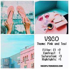 Olá meus amores, como estão? O post de hoje é mais um da série de como editar suas fotos pra o Instagram com o VSCOCAM e hoje trouxe especialmente para quem gosta do tema mais rosa, então espero qu…