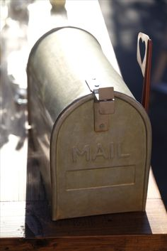 Letter Mail Box Wishing Well for Wedding and Events Hire. A creative way of collecting well wishes and contributions to your home from your guests. Available for Hire in Melbourne.  @thesmallthingsco
