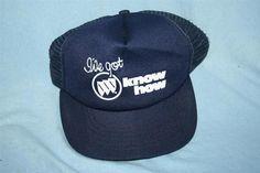 Vintage 1980s BUICK I ve Got Buick Know How MESH TRUCKER HAT Cap Cars  Snapback cc3869395