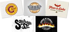 Logo Design: Sausages | Abduzeedo Design Inspiration & Tutorials