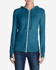 Women's Engage Full-zip Hoodie Sweater | Eddie Bauer