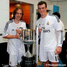 Barcelona 1-2 Real Madrid | Copa del Rey final 2014  at Estadio Mestalla. #HalaMadrid