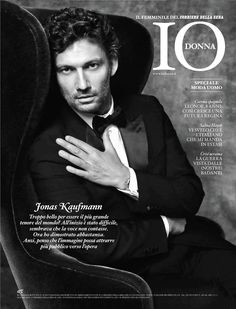 Jonas Kaufmann en Io Donna, de Il Corriere della Sera (junio 2014)