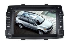 Pioeneer Intelligent (2010-2012) KIA Sorento /Sorento-R 6-8 Inch Touchscreen Double-DIN Car DVD Player & In Dash Navigation System,Navigator,Build-In Bluetooth,Radio with RDS,Analog TV, AUX, iPhone/iPod Controls,steering wheel control, rear view camera by Pioeneer. $499.00. Navigation brings the latest navigation technology into your multimedia Unit.High quality electronic components and parts ensure the experience of First Class navigation Multimedia Playback handles t...