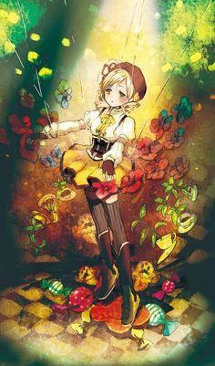 Imagem de anime and girl