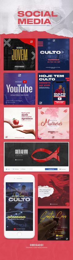 Church Graphic Design, Church Design, Medias Red, Web Design, Flyer Design Inspiration, Youtube Banners, Social Media Design, Social Media Graphics, Backgrounds