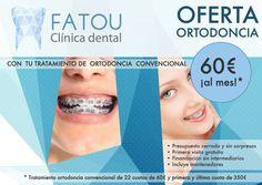 Diseño publicitario para clínica dental en Sevilla.