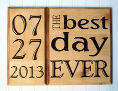 Best Wedding Gift / Unique Wedding Gift / The Best by GypsyFriday, $58.00 12x16