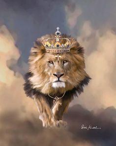 the lion of the tribe of judah JESUINRICRISTO | Lion Of Judah Art Of Jesus christian religious paintings King Of Kings