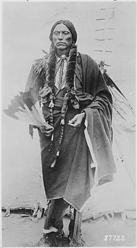 Quanah Parker, the last major chief of the Comanche. He was born in 1845, near Wichita Falls, Texas and died Feb. 23, 1911, near Fort Sill, Okla. He was an aggressive Comanche leader who mounted an unsuccessful war against white invaders in southeast Texas. He later became the main spokesman and peacetime leader of the Indians. Sought help in trying to locate his mother, Cynthia Ann Parker whom he hadn't seen in 16 years. Unfortunately she had died and he was never able to see his mother…