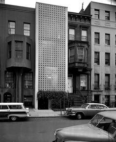 Edward Durell Stone, Townhouse, New York, 1957