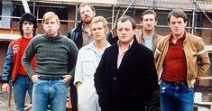 Here's What The Cast Of Auf Wiedersehen Pet Look Like Today! Drama Tv Series, Comedy Series, Comedy Tv, Kevin Whately, Matt Parker, The Last Samurai, The Last Ship, Uk Tv